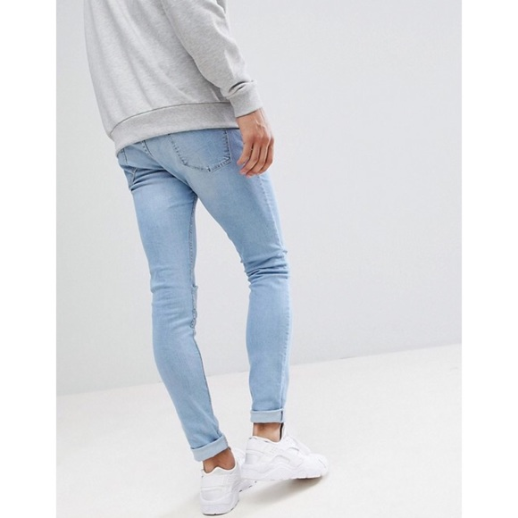 72799525b5f NWT ASOS Pull   Bear Mens Super Skinny Denim Jeans